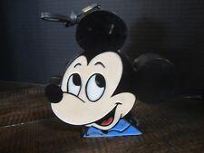 Vintage 1970'S Mickey Mouse AM Portable Radio disney walt disney mickey head