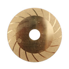"Gold Pattern 4"" Double Side Glass Ceramic Diamond Saw Blade Cutting Disc Wheel"