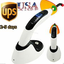 10W 2000MW Cordless LED Dental Curing Light Lamp Tooth Teeth Whitening【USA 】