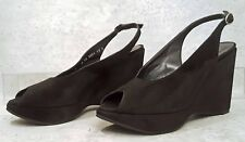 Robert Clergerie Dylan Wedge Sandal Shoes size 10 New $595