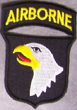 Embroidered Military Patch U S Army 101st Airborne Division New