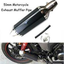 Exhaust Pipe Muffler Silencer Universal Motorcycle For Buell 1125CR 2009-2010