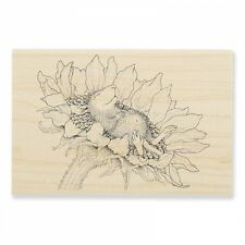 HOUSE MOUSE RUBBER STAMPS SUNFLOWER SMILE NEW wood STAMP