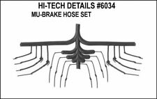 HI-TECH DETAILS HO DIESEL MU SIGNAL & AIR REAL RUBBER  HOSES (1 SET)   6034
