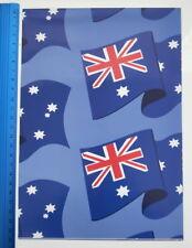 GIFT WRAP BIRTHDAY OR ANY OCCASION AUSTRALIAN FLAG AUSTRALIA DAY AUSSIE OZZIE