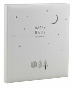 Happy Baby Fotoalbum in 29x32 cm 60 weiße Seiten Kinder Buchalbum Fotobuch