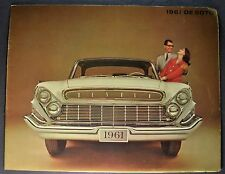 1961 DeSoto Catalog Sales Brochure Excellent Original 61