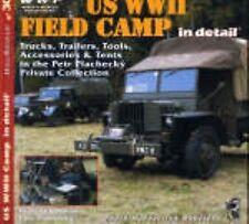 US WW II Field Camp No.30. Trucks,Trailers, Army Military WW2