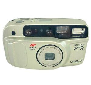 Minolta Freedom Zoom 70 35mm Point & Shoot Film Camera