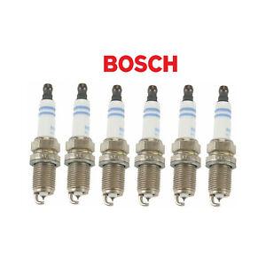 6 PCS BOSCH Super Plus Spark Plugs FIT AUDI/DODGE/FIAT/MAZDA/MERCEDES/TOYOTA...