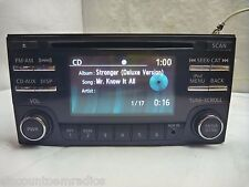 14 15 Nissan Versa XM Radio Cd Mp3 Player & Aux Port for Ipod 28185-3VZ0A CY7700