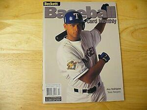 Beckett Baseball Card Monthly Magazine - March 2001 (Alex Rodriguez) - EXCELLENT