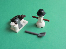Lego Mini figurine Snowman figure for set 60063 Advent Calendar 2014 City