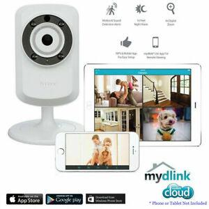 D-Link DCS-932L Wireless Day/Night SMART CAMERA MONITORING VIA APP