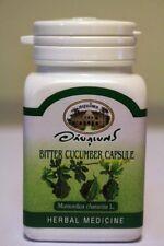Organic Bitter Cucumber (Bitter Melon) 500mg - 140 Veg Capsules - No Additives