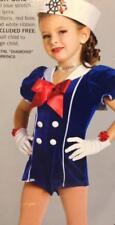 Dance Costume Jazz sailor girl navy military Tap skate pageant