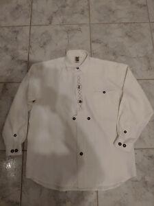 TRACHTEN Camicia slittamento Camicia bianco Cotone TRACHTEN Camicia in M NUOVO