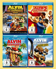 * * * * * alvin y los chipmunks 1-4 (4 Blu-rays) ☻