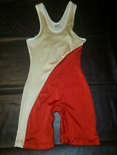 Wrestling Singlet Mens Classic Adult Small Vintage High School Brute AS