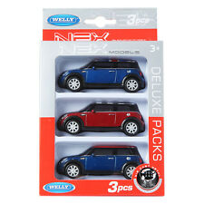 Welly NEX 1:43 Mini Cooper S 3 SET Display Mini Car
