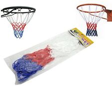 Universal Nylon Red White Blue Basketball Net Nylon Hoop Goal Mesh @UK