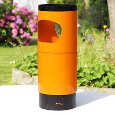 Porte parapluie vintage orange collection Manade design Samp Jean-René Talopp