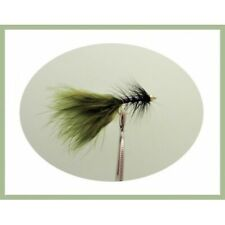 8 Olive Dancers, Fishing Flies, Size 10  Trout Flies, Good for Rainbow trout