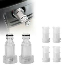 2 Stück Hochdruck Anschluss Filter 4 Stück Netze Für Kärcher K2 K7 Serie 3 Cm