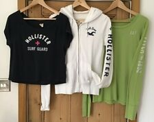 BUNDLE Ladies HOLLISTER ABERCROMBIE Tops T Shirts Hoodie Size S M