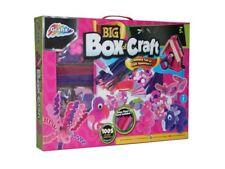 Giant PINK Box Of Craft Childrens Art & Craft Set Make & Create Kit 100+ Pieces