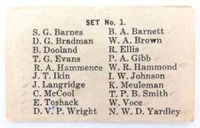 Coles Original Cricket Trading Cards