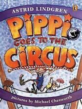 NEW Pippi Goes to the Circus By Astrid Lindgren Paperback Free Shipping
