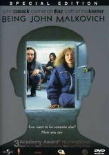 Being John Malkovich Dvd Spike Jonze(Dir) 1999