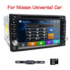 Car Stereo GPS DVD For Nissan X-tail Frontier Pathfinder Versa Sentra Tiida+Map