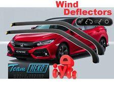 HONDA CIVIC  X gene 2017- Wind deflectors SALOON / HB for front doors HEKO 17180