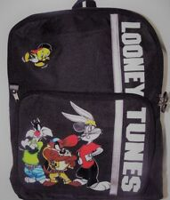 """NEW WITH TAGS LOONEY TUNES BACKPACK 16 X 12"""""""
