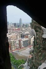 Barcelona Skyline Cityscape Catalonia Spain Photograph Picture Print