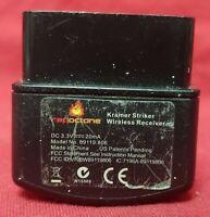PS2 Dongle Guitar Hero Kramer Striker Wireless Receiver Red Octane VFIBW89119806