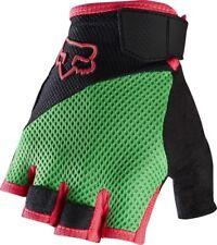 Fox Reflex GEL Short Finger Gloves Mountain Bike Flo Green 2016 Small