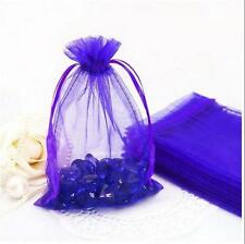 25/50/100Pcs Candy Gift Bag Sheer Organza Wedding Christmas Favor Pouch Supplies