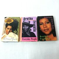 Aretha Franklin Cassette Singles Lot Of 3 Untested