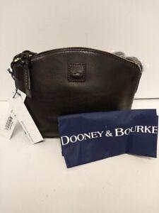 NWT Dooney & Bourke Penny Crossbody Florentine Leather Black/ Black
