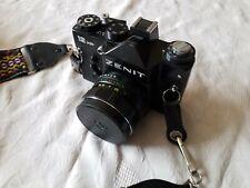 Zenit Slr 12xp Camera, Helios 44M-4 Lens, Storage Bag