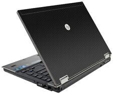 3D CARBON FIBER Vinyl Lid Skin Cover Decal fits HP Elitebook 8440P Laptop