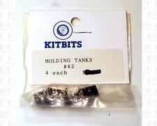 Kitbits HO Parts: Passenger Car Waste Holding Tanks 42