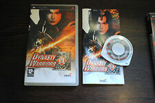 Jeu DYNASTY WARRIORS pour PSP (Sony) Complet