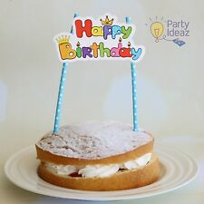 Kids Birthday Cake Topper - Cake Decorations Girls/Boys Birthday Party Supplies