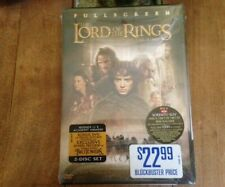 "New Sealed Fullscreen Version Lord of the Rings ""The Fellowship of the Rings"""