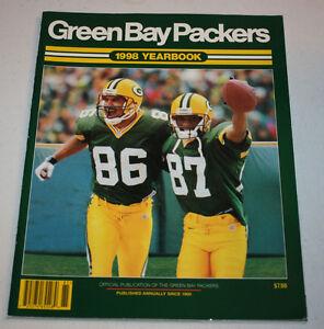 Green Bay Packers 1998 Yearbook Program   Brett Favre