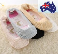 Women girls ankle lace non-slippery footies / ankle socks. AU Stock